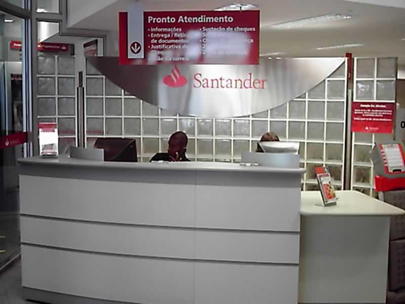 Estágio em Agência Santander Rio de Janeiro