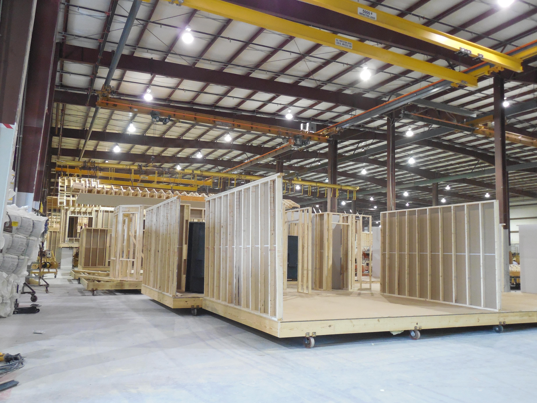 O que constru o modular aiza engenharia for E house manufacturers usa